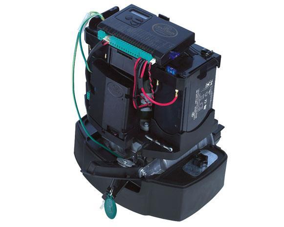Sliding gate motors d10 turbo 24v for Sliding gate motor kit